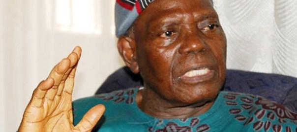 National chairman of the All Progressives Congress, APC,  Bisi Akande