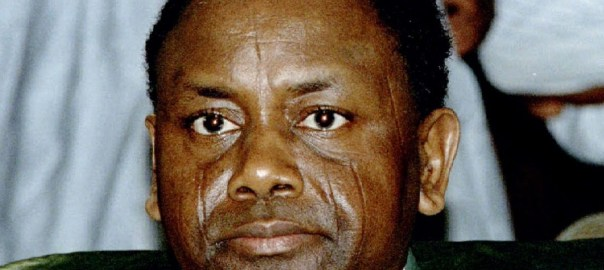 Former military Head of State, Sani Abacha
