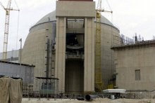 A nuclear plant in Iran used to illustrate the story