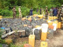 Pipeline vandals in Ogun