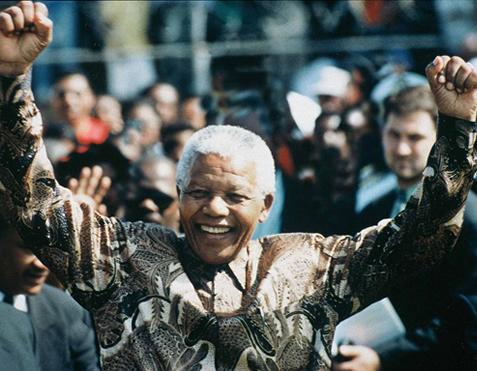 Nelson Mandela... Photo: courtesy http://www.mandela.gov.za