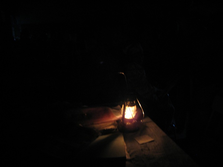Lamp in Darkness used to illustrate the story