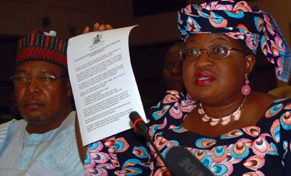 Minister of Finance, Ngozi Okonjo-Iweala, has, until recently, claimed the Nigerian economy is in perfect shape