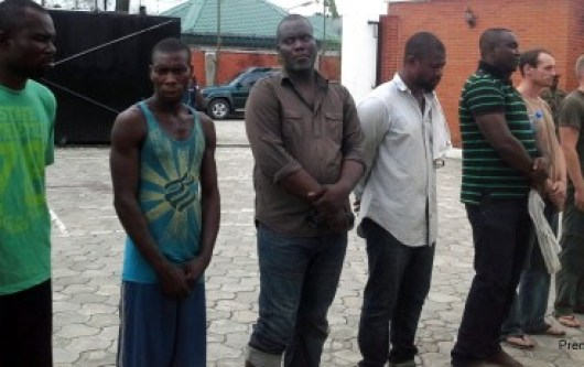 THE BRITISH SUSPECTS AMONGST THEIR NIGERIAN COLLABORATORS