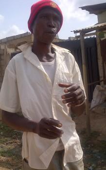 Hawawu's father Yinusa Olarenwaju