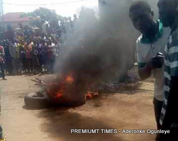 Mob action in Ekiti State
