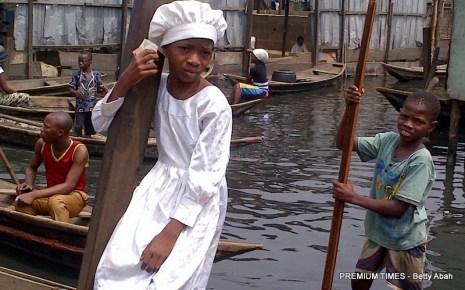 Makoko girl