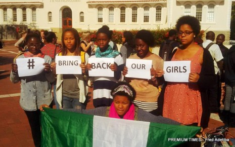 Stellenbosch bring back our girls protest (3)
