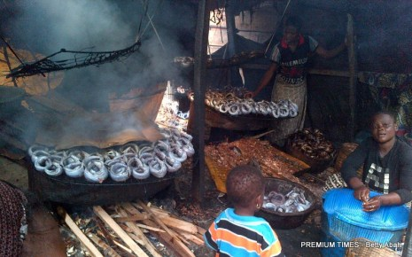 Fishery, fresh or smoked, is the biggest business in Makoko