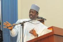 A former Minister of Information, Labaran Maku,