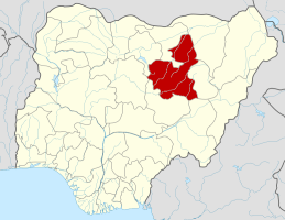 Bauchi State on the map