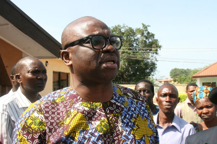Ayodele Fayose, Governor of Ekiti state