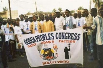 Some members of Odua People's Congress