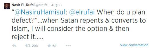el-rufai tweet