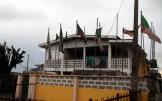 APC state secretariat, along Ajilosu area, Ado-Ekiti…after the attack.