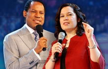 Chris and Anita Oyakhilome when the going was good.