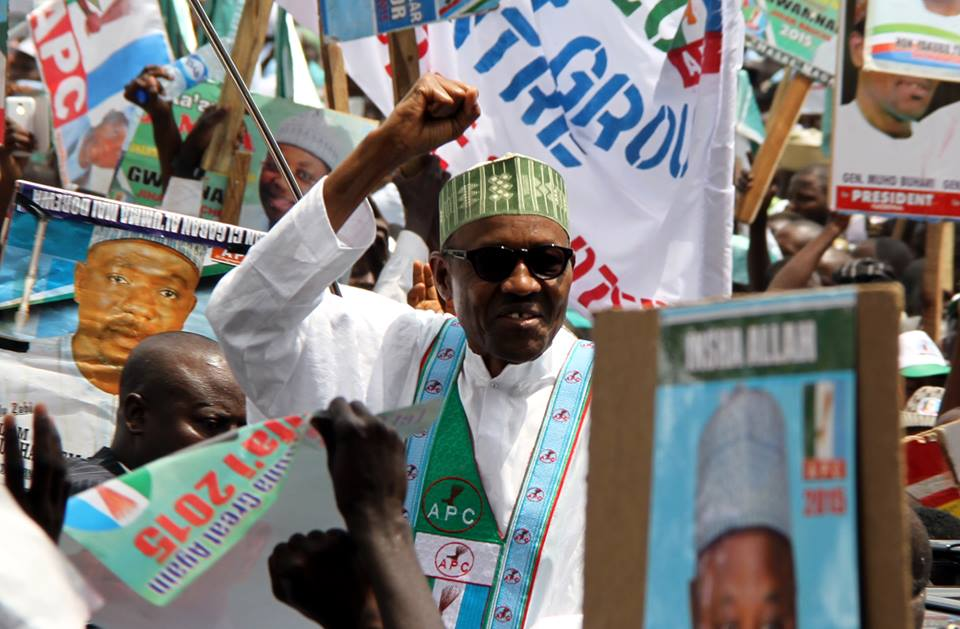 Image result for Buhari's supporters accuse opposition of sponsoring protests