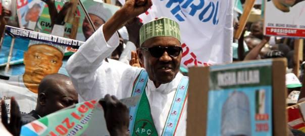 Buhari campaigning
