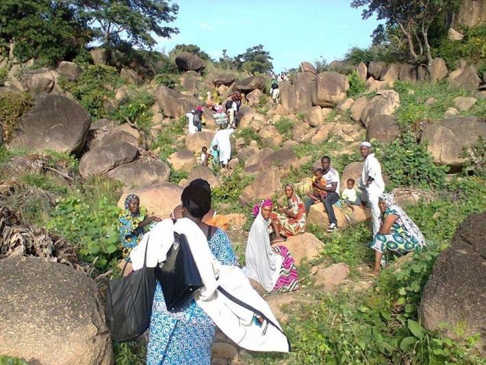 Adamawa people fleeing from Boko Haram. (Mubi)