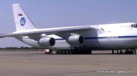 Chad bound Russian plane with arms 5
