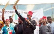 President Muhammadu Buhari During Campaign