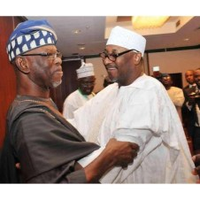 APC Chairman John Oyegun and PDP Chairman Adamu Mu'azu