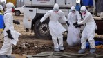 Ebola health workers in Congo