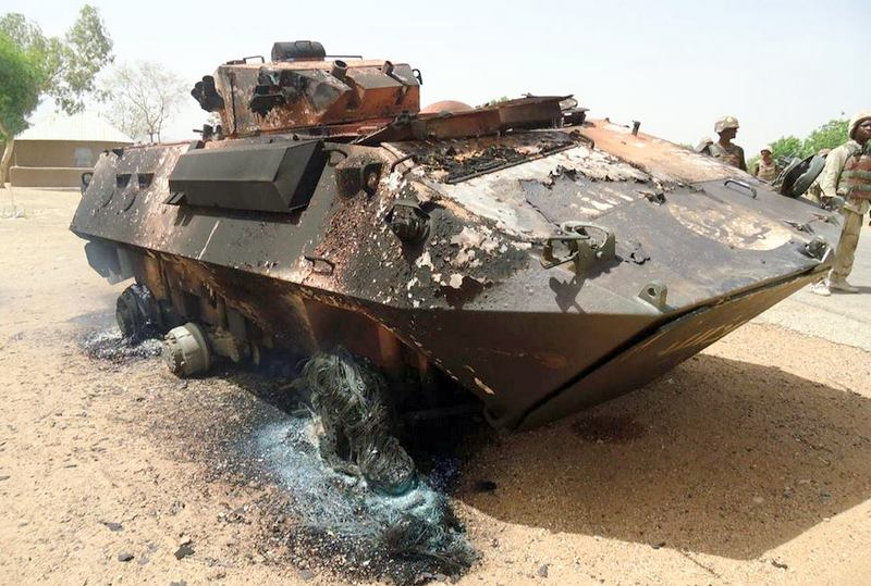 Gwoza Recapture from Boko Haram