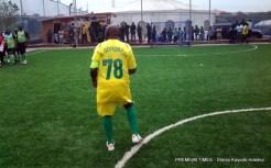 Former President Olusegun Obasanjo exhibiting soccer skills to celebrate 78th birthday