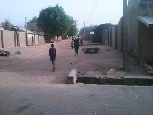 Street-in-the-recaptured-Gwoza-town-by-Nigerian-Army