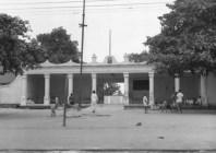 Gillian Hopwood photograph, 1954, Iga Idunganran Entrance