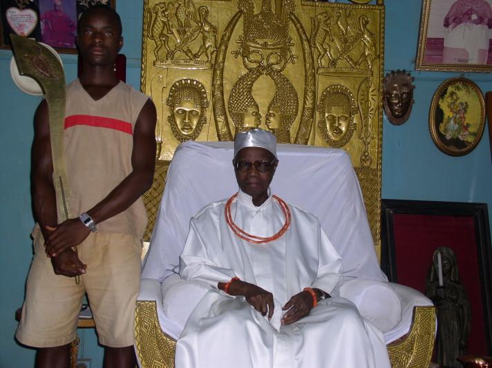 Oba's death: All Benin Kingdom markets closed, males to