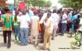 Say No To Xenophobia Protest at the South African High Commision in Abuja