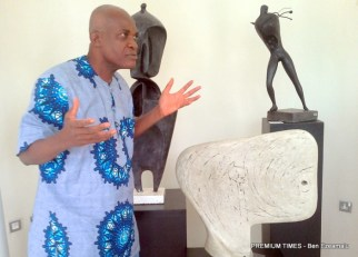 Anidi explains the inspirations behind his works