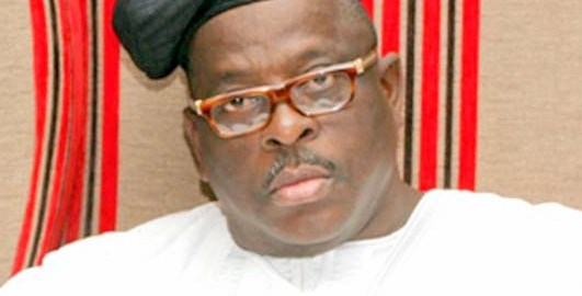 Buruji Kashamu, the senator representing Ogun East Senatorial District