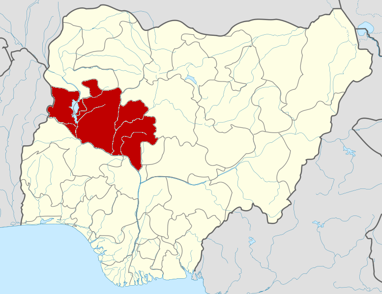 Niger State on Nigerian Map