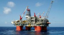 Oil rig used to illustrate the story.
