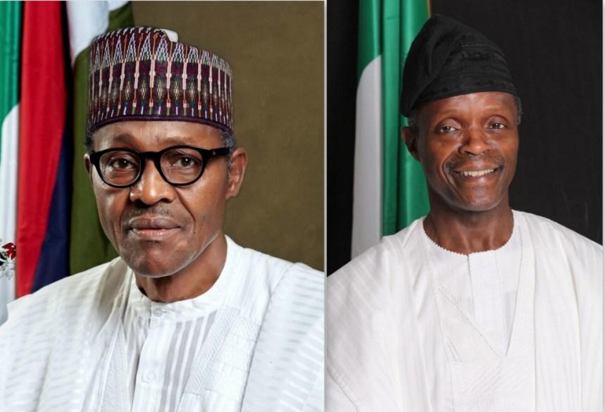 President-elect Muhammadu Buhari  and Vice President-elect Prof. Yemi Osinbajo