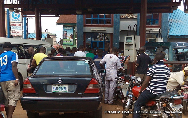 Capital Oil selling Petrol in Nnewi, Anambra state