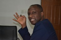 Mr Akande in an interactive session with Premium Times staff
