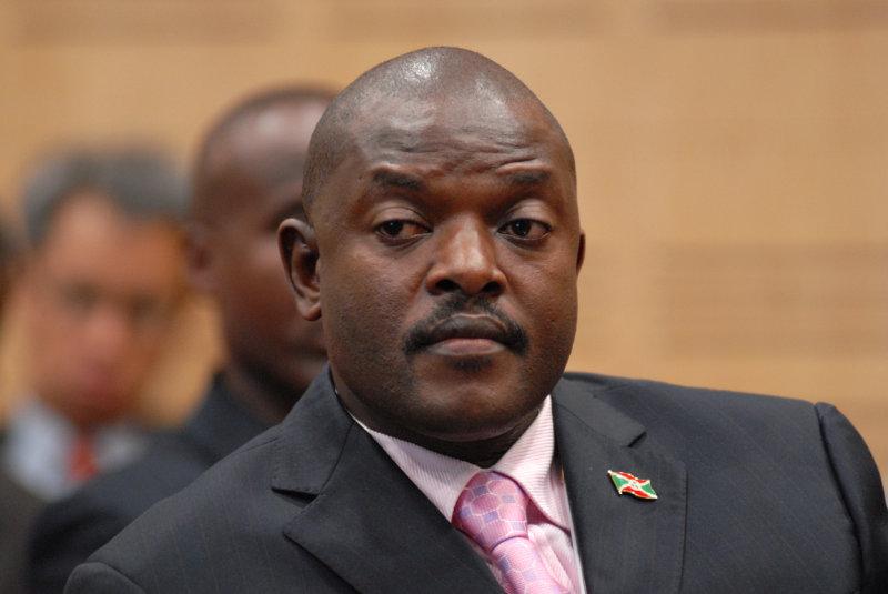 Pierre Nkurunziza, Burundi President