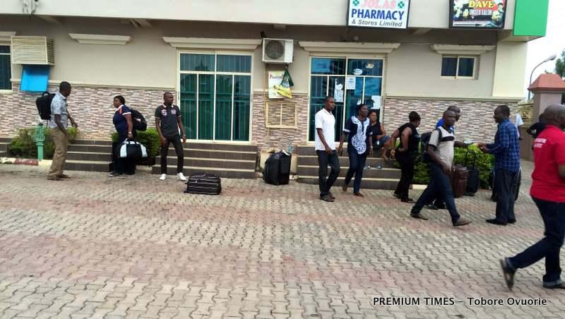 Nigerian volunteer workers to Liberia