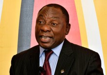 South Africa's president, Cyril Ramaphosa