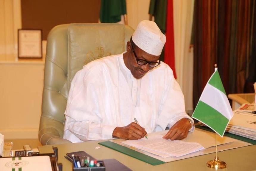 Buhari in office