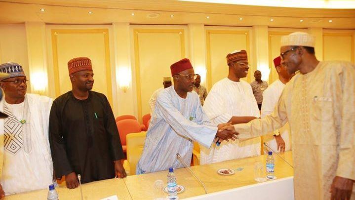 Buhari meets house of reps11