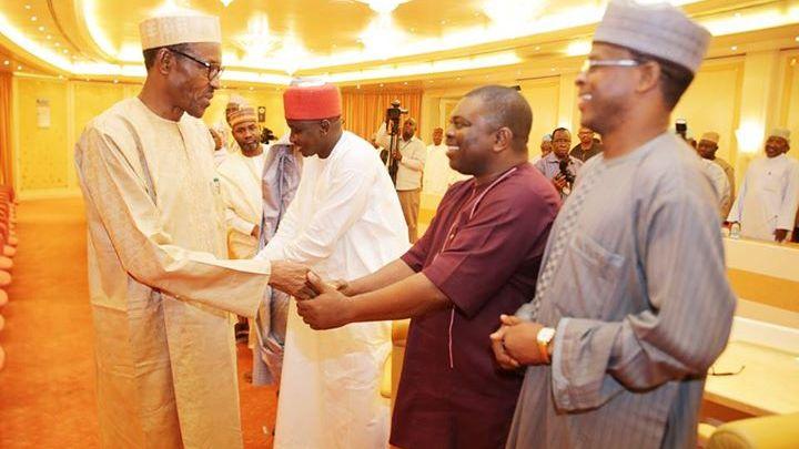 Buhari meets house of reps2