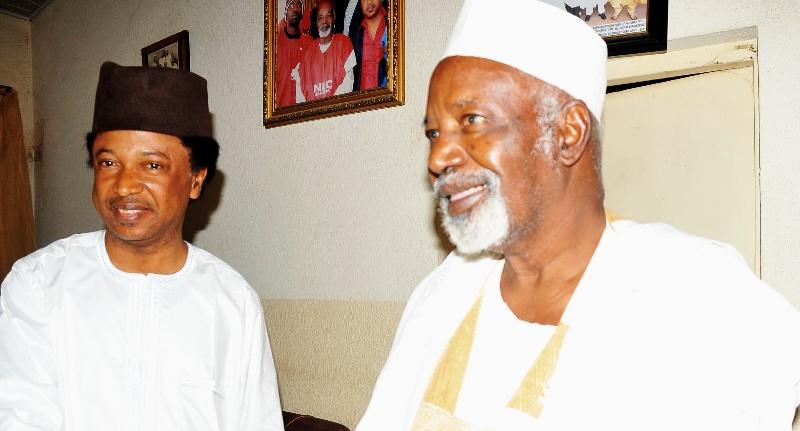 Senator Shehu Sani and Alh. Balarabe Musa