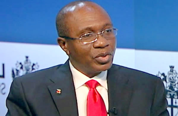 CBN Governor, Godwin Emefiele used to illustrate the story.