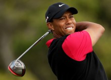 FILE: Tiger Woods watches a tee shot during the final round of the 110th U.S. Open at Pebble Beach Golf Links on June 20, 2010 in Pebble Beach, California. (Photo by Andrew Redington/Getty Images)