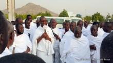 FILE PHOTO: Arafat: Nigerians pray for country at Hajj 2015